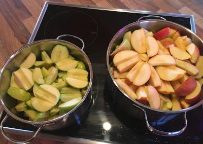 So entsteht Apfelmus