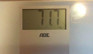 Gewicht am 1.1.19