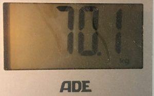 Gewicht am 13.01.19
